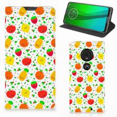 Motorola Moto G7   G7 Plus Flip Style Cover Fruits