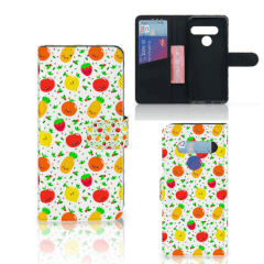 LG G8s Thinq Book Cover Fruits