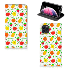 Apple iPhone 11 Pro Max Flip Style Cover Fruits