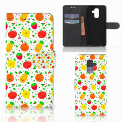 Samsung Galaxy A6 Plus 2018 Book Cover Fruits