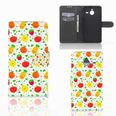 Microsoft Lumia 640 XL Book Cover Fruits
