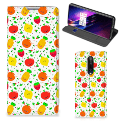OnePlus 8 Flip Style Cover Fruits