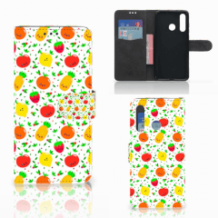 Huawei Nova 4 Book Cover Fruits