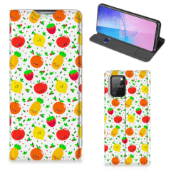 Samsung Galaxy S10 Lite Flip Style Cover Fruits