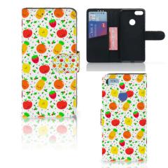 Motorola Moto E6 Play Book Cover Fruits