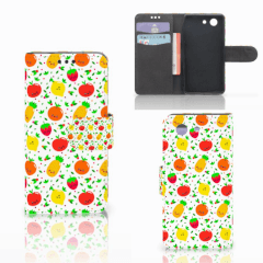 Sony Xperia Z3 Compact Book Cover Fruits