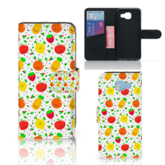 Samsung Galaxy A5 2016 Book Cover Fruits