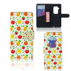 Motorola One Zoom Book Cover Fruits