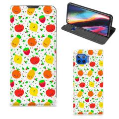 Motorola Moto G 5G Plus Flip Style Cover Fruits