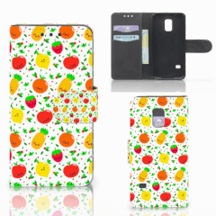 Samsung Galaxy S5 Mini Book Cover Fruits