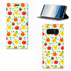 Samsung Galaxy Note 8 Flip Style Cover Fruits