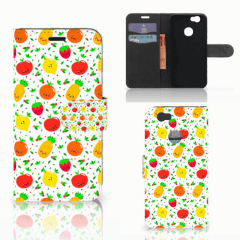 Huawei Nova Book Cover Fruits