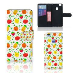 Huawei P9 Lite Book Cover Fruits
