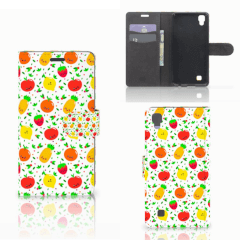 LG X Power Book Cover Fruits
