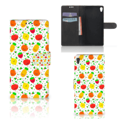 Sony Xperia XA Ultra Book Cover Fruits