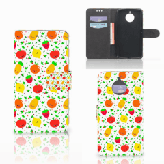 Motorola Moto E4 Plus Book Cover Fruits