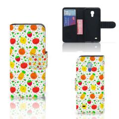 Samsung Galaxy S4 Mini i9190 Book Cover Fruits