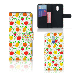 OnePlus 6T Book Cover Fruits