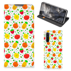 OnePlus Nord Flip Style Cover Fruits