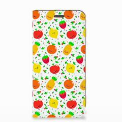 Motorola Moto E5 Play Flip Style Cover Fruits