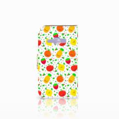 Samsung Galaxy J1 2016 Book Cover Fruits