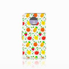Moto G5S Book Cover Fruits