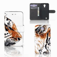 Hoesje Samsung Galaxy S4 Watercolor Tiger