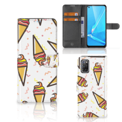 OPPO A72 | OPPO A52 Book Cover Icecream