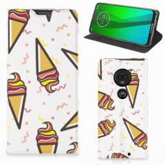 Motorola Moto G7   G7 Plus Flip Style Cover Icecream