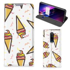 OnePlus 8 Flip Style Cover Icecream