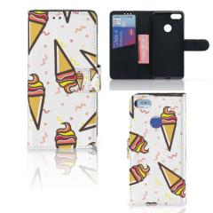 Motorola Moto E6 Play Book Cover Icecream