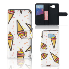 Samsung Galaxy A5 2016 Book Cover Icecream