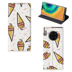 Huawei Mate 30 Pro Flip Style Cover Icecream