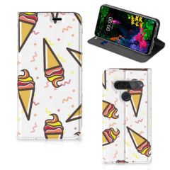 LG G8s Thinq Flip Style Cover Icecream