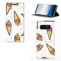 Samsung Galaxy Note 8 Flip Style Cover Icecream