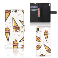 Sony Xperia XA Ultra Book Cover Icecream