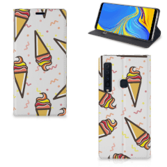 Samsung Galaxy A9 (2018) Flip Style Cover Icecream