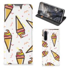 OnePlus Nord Flip Style Cover Icecream