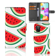 Samsung Galaxy A41 Book Cover Watermelons