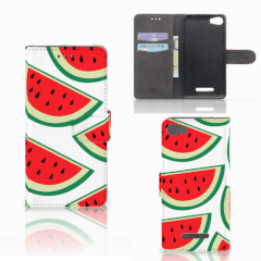 Wiko Lenny 2 Book Cover Watermelons