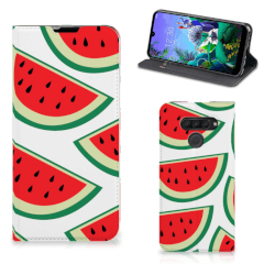 LG Q60 Flip Style Cover Watermelons