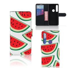 Motorola Moto G8 Plus Book Cover Watermelons