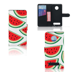 Motorola Moto Z Play Book Cover Watermelons