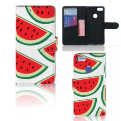 Motorola Moto E6 Play Book Cover Watermelons