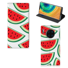 Huawei Mate 30 Pro Flip Style Cover Watermelons