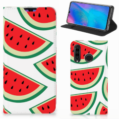 Huawei P30 Lite New Edition Flip Style Cover Watermelons