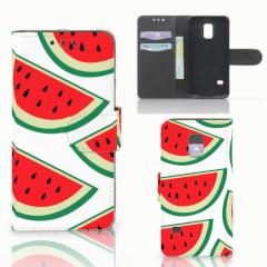 Samsung Galaxy S5 Mini Book Cover Watermelons