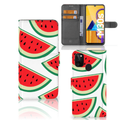 Samsung Galaxy M21 Book Cover Watermelons