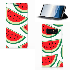 Samsung Galaxy Note 8 Flip Style Cover Watermelons