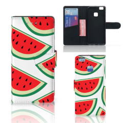 Huawei P9 Lite Book Cover Watermelons